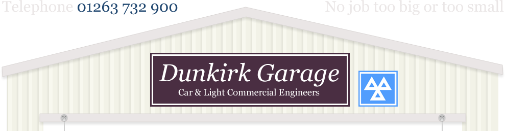 Dunkirk Garage, Aylsham, Norwich for Repairs, Services, MOT, Breakdown and Mechanical Services